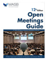 Open Meetings Act - 12th Edition